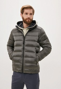 Пуховик, Helly Hansen, цвет: серый. Артикул: HE012EMKGOS0. Одежда / Верхняя одежда / Пуховики и зимние куртки