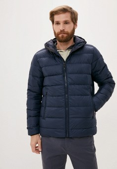 Пуховик, Helly Hansen, цвет: синий. Артикул: HE012EMKGOS1. Одежда / Верхняя одежда / Пуховики и зимние куртки
