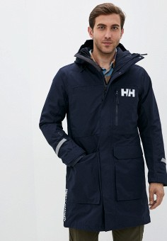 Парка, Helly Hansen, цвет: синий. Артикул: HE012EMKGOS7. Одежда / Верхняя одежда / Парки