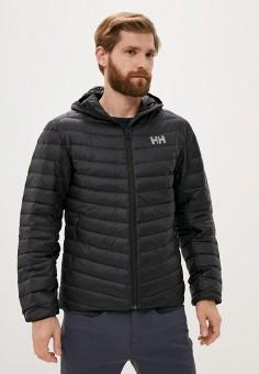 Пуховик, Helly Hansen, цвет: черный. Артикул: HE012EMKGPR1. Одежда / Верхняя одежда / Пуховики и зимние куртки