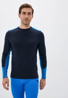 Термобелье верх, Helly Hansen, цвет: синий. Артикул: HE012EMKHAS5. Одежда / Термобелье