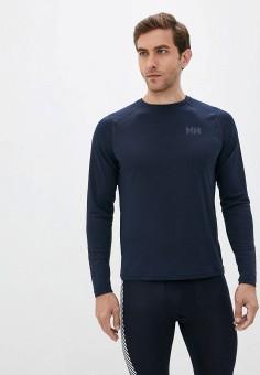Термобелье верх, Helly Hansen, цвет: синий. Артикул: HE012EMKHAT5. Одежда / Термобелье