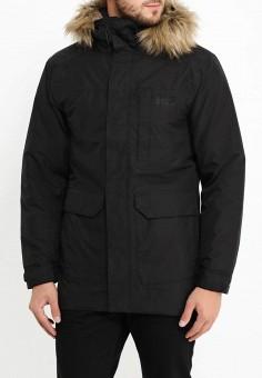 Куртка утепленная, Helly Hansen, цвет: черный. Артикул: HE012EMLCE54. Одежда / Верхняя одежда / Пуховики и зимние куртки / Зимние куртки