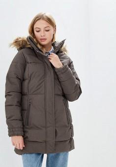 Куртка утепленная, Helly Hansen, цвет: хаки. Артикул: HE012EWCJRF5.