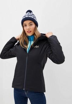 Куртка утепленная, Helly Hansen, цвет: черный. Артикул: HE012EWFQWS6. Одежда / Верхняя одежда / Демисезонные куртки