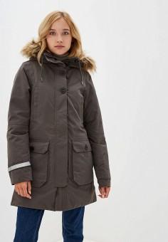 Пуховик, Helly Hansen, цвет: серый. Артикул: HE012EWFQWT5. Одежда / Верхняя одежда / Пуховики и зимние куртки / Пуховики