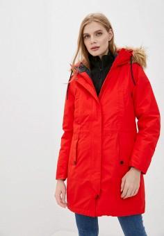 Парка, Helly Hansen, цвет: красный. Артикул: HE012EWKGPY1.