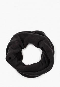 Шарф, Helly Hansen, цвет: черный. Артикул: HE012GULCE94. Аксессуары / Платки и шарфы