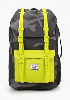 Рюкзак, Herschel Supply Co, цвет: серый. Артикул: HE013BBJQGR0. Мальчикам / Аксессуары
