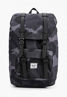 Рюкзак, Herschel Supply Co, цвет: черный. Артикул: HE013BUIFRS8. Аксессуары / Рюкзаки
