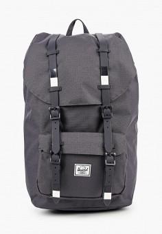 Рюкзак, Herschel Supply Co, цвет: серый. Артикул: HE013BUJMPR7. Аксессуары / Рюкзаки / Рюкзаки