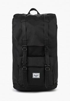 Рюкзак, Herschel Supply Co, цвет: черный. Артикул: HE013BULIA13. Аксессуары / Рюкзаки