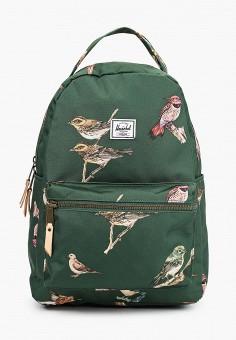 Рюкзак, Herschel Supply Co, цвет: зеленый. Артикул: HE013BWJMQJ6. Аксессуары / Рюкзаки / Рюкзаки