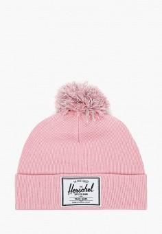 Шапка, Herschel Supply Co, цвет: розовый. Артикул: HE013CGJQGR7. Девочкам / Аксессуары