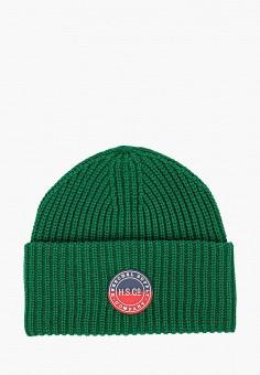 Шапка, Herschel Supply Co, цвет: зеленый. Артикул: HE013CUJMQA4. Аксессуары / Головные уборы / Шапки