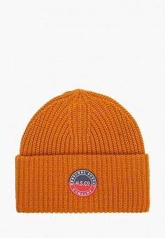 Шапка, Herschel Supply Co, цвет: оранжевый. Артикул: HE013CUJMQA5. Аксессуары / Головные уборы / Шапки