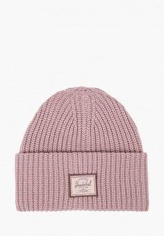 Шапка, Herschel Supply Co, цвет: розовый. Артикул: HE013CWJMQI7. Аксессуары / Головные уборы
