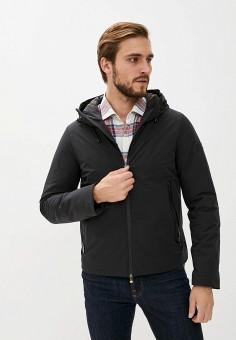 Пуховик, Hetrego, цвет: черный. Артикул: HE832EMKDMO7. Одежда / Верхняя одежда / Пуховики и зимние куртки