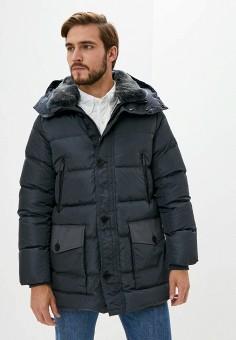 Пуховик, Hetrego, цвет: черный. Артикул: HE832EMKDMP2. Одежда / Верхняя одежда / Пуховики и зимние куртки