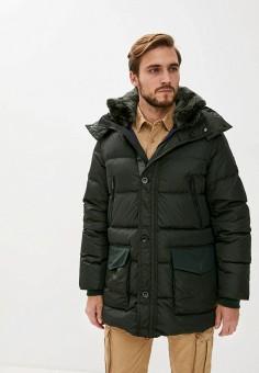 Пуховик, Hetrego, цвет: зеленый. Артикул: HE832EMKDMP5. Одежда / Верхняя одежда / Пуховики и зимние куртки