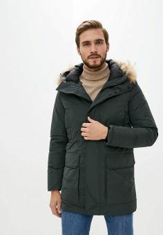 Пуховик, Hetrego, цвет: хаки. Артикул: HE832EMKKFA6. Одежда / Верхняя одежда / Пуховики и зимние куртки