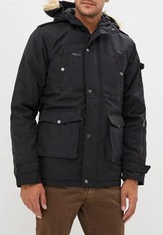 Куртка утепленная, Hopenlife, цвет: черный. Артикул: HO012EMATLX7. Одежда / Верхняя одежда / Пуховики и зимние куртки / Зимние куртки