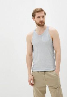 Майка, Hopenlife, цвет: серый. Артикул: HO012EMISGV2. Одежда / Майки