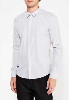 Рубашка, Hopenlife, цвет: серый. Артикул: HO012EMWGL49. Одежда / Рубашки / Рубашки с длинным рукавом
