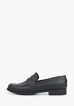 Лоферы, Hunter, цвет: черный. Артикул: HU028AMFVRE2. Обувь / Туфли