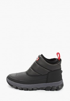 Дутики, Hunter, цвет: черный. Артикул: HU028AMGNKT3. Обувь / Сапоги  / Дутики и луноходы