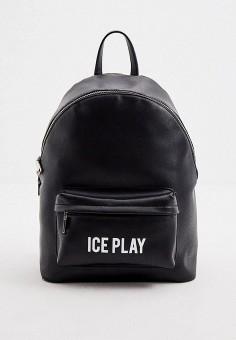 Рюкзак, Ice Play, цвет: черный. Артикул: IC006BWHPKN3. Аксессуары / Рюкзаки