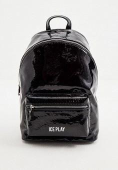 Рюкзак, Ice Play, цвет: черный. Артикул: IC006BWHPKO3. Аксессуары / Рюкзаки