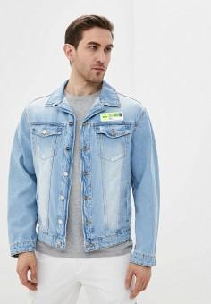 Куртка джинсовая, Ice Play, цвет: голубой. Артикул: IC006EMHPKI4. Одежда / Верхняя одежда / Джинсовые куртки