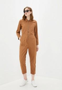 Комбинезон, Ichi, цвет: коричневый. Артикул: IC314EWHRRS0. Одежда / Комбинезоны