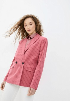 Пиджак, Ichi, цвет: розовый. Артикул: IC314EWHRRT0. Одежда / Пиджаки и костюмы
