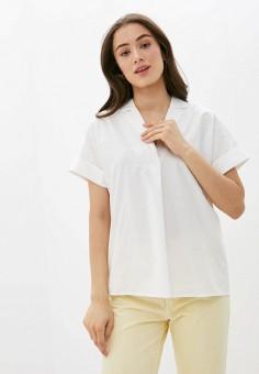 Блуза, Ichi, цвет: белый. Артикул: IC314EWHRTR1. Одежда / Блузы и рубашки / Блузы