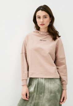 Худи, Ichi, цвет: розовый. Артикул: IC314EWHRTR6. Одежда / Толстовки и свитшоты