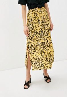 Юбка, Ichi, цвет: желтый. Артикул: IC314EWHRTU2. Одежда / Юбки