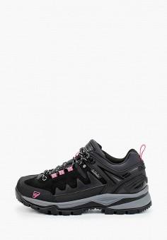 Ботинки трекинговые, Icepeak, цвет: черный. Артикул: IC647AWIPTF1. Обувь / Ботинки