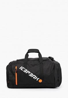Сумка спортивная, Icepeak, цвет: черный. Артикул: IC647BUIRQY2. Аксессуары