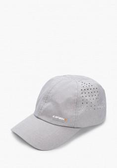 Бейсболка, Icepeak, цвет: серый. Артикул: IC647CMJETI6. Аксессуары / Головные уборы