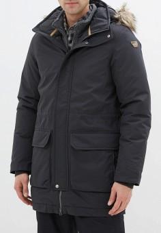 Куртка утепленная, Icepeak, цвет: черный. Артикул: IC647EMHKPU8. Одежда / Верхняя одежда / Пуховики и зимние куртки / Зимние куртки