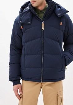 Пуховик, Icepeak, цвет: синий. Артикул: IC647EMHKPV3. Одежда / Верхняя одежда / Пуховики и зимние куртки / Пуховики