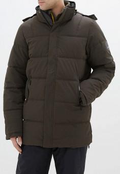 Куртка утепленная, Icepeak, цвет: зеленый. Артикул: IC647EMHKPV5. Одежда / Верхняя одежда / Демисезонные куртки