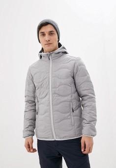 Пуховик, Icepeak, цвет: серый. Артикул: IC647EMIPSE1. Одежда / Верхняя одежда / Пуховики и зимние куртки / Пуховики