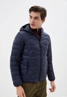 Пуховик, Icepeak, цвет: синий. Артикул: IC647EMIPSE2. Одежда / Верхняя одежда / Пуховики и зимние куртки / Пуховики