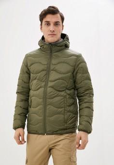 Пуховик, Icepeak, цвет: хаки. Артикул: IC647EMIPSE3. Одежда / Верхняя одежда / Пуховики и зимние куртки / Пуховики
