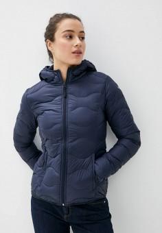 Пуховик, Icepeak, цвет: синий. Артикул: IC647EWIPSG4. Одежда / Верхняя одежда / Пуховики и зимние куртки / Пуховики