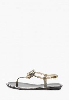 Сандалии, Ideal Shoes, цвет: черный. Артикул: ID007AWFFUJ1. Обувь / Резиновая обувь