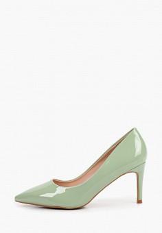 Туфли, Ideal Shoes, цвет: зеленый. Артикул: ID007AWFLF55. Обувь / Туфли / Лодочки